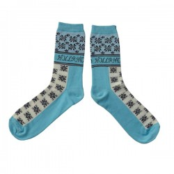 SOCKS HOLLAND FLOWER BLUE