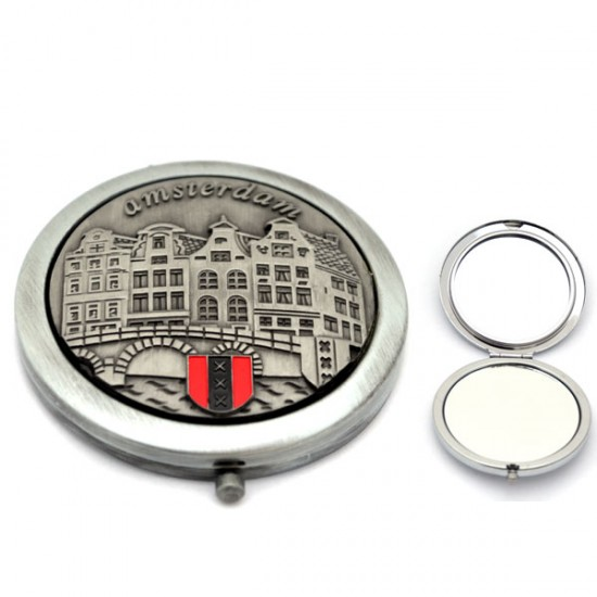 Mirror box amsterdam canals embossed petrew colored