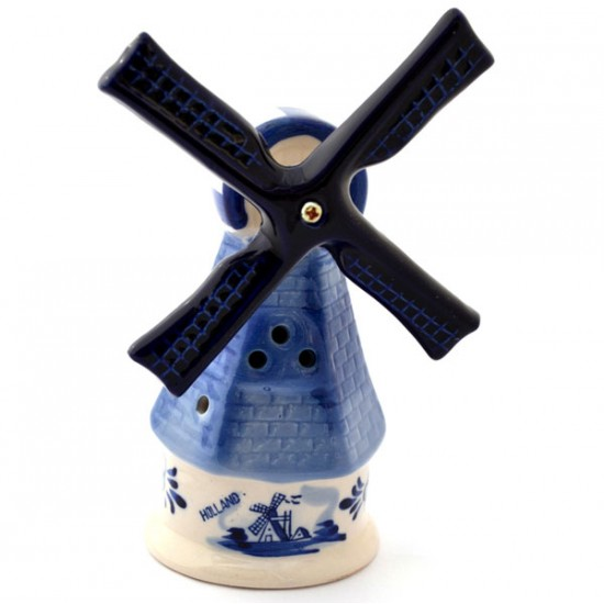 DELFT BLUE WINDMILL BRICK DESIGN 12 CM