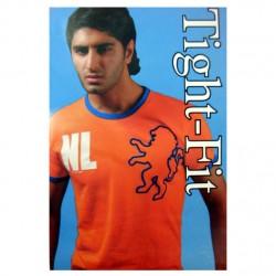 T-SHIRT NL ORANGE LION TIGHTFIT