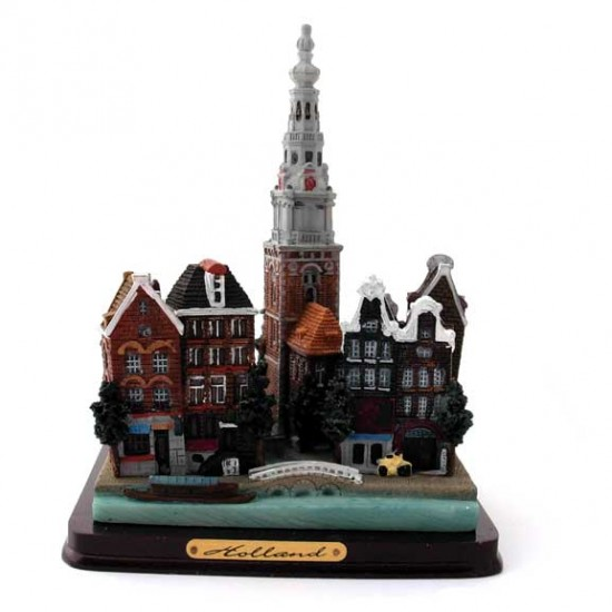SCENES HOLLAND AMSTERDAM CITY 14 CM