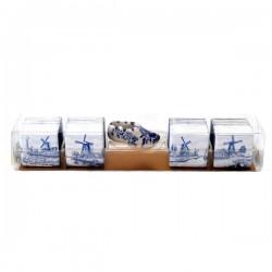 TILE CHOCOLATES WITH DELFT BLUE SHOE