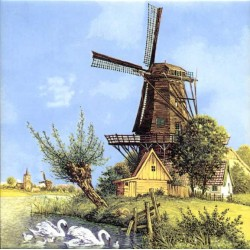 TILE WINDMILL WILLOW COLOR