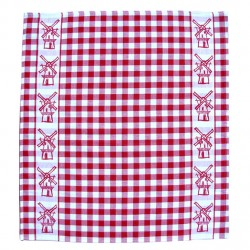 TEA TOWEL RED MILL 60 x 65 CM
