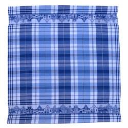 TEA TOWEL CANAL HOUSES BLUE 60 x 65 CM