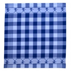 TEA TOWEL BLUE MILL 60 x 65 CM