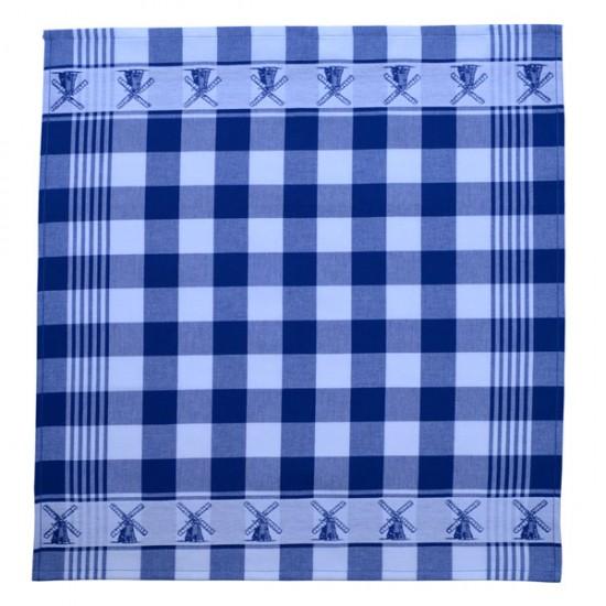TEA TOWEL BLUE MILL 60 x 65 CM