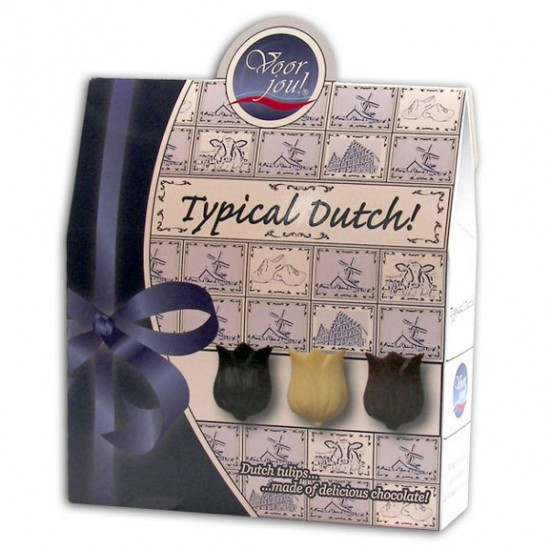 TYPICAL DUTCH CHOCOLATE TULIPS