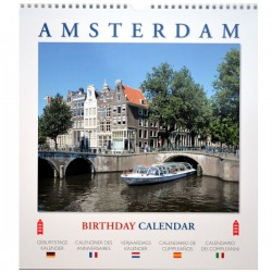 BIRTHDAY CALENDAR AMSTERDAM BIG