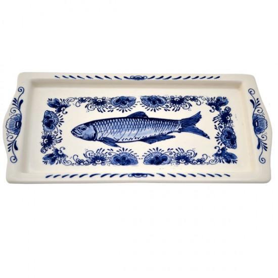 Fischteller delfter blau