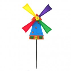 WINDMILL BLUE NYLON on STICK 50 CM