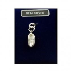 Silver charm cloggie filigrain 14 mm