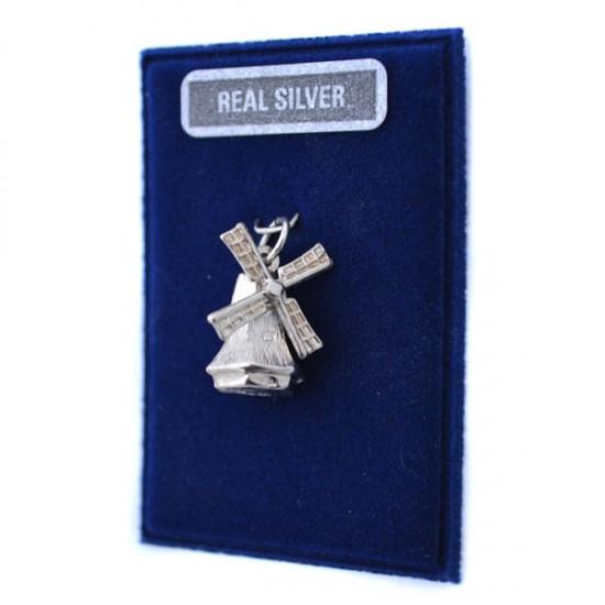 Silver charm windmill