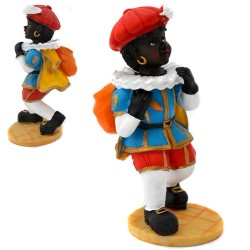 BLACK PETE with SACK POLYSTONE 14 CM